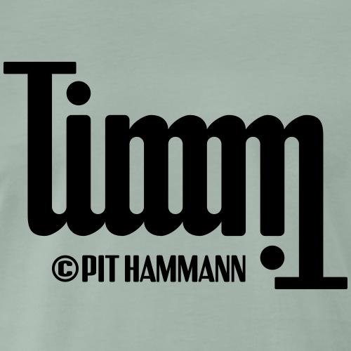 Ambigramm Timm 01 Pit Hammann - Männer Premium T-Shirt