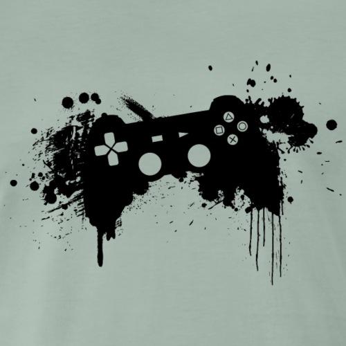Speel harde controller - Mannen Premium T-shirt