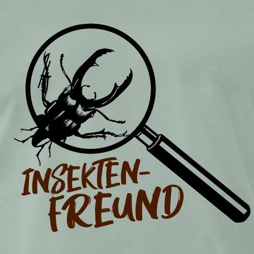 Insektenfreund - Hirschkäfer-Design, Geschenkidee! - Männer Premium T-Shirt