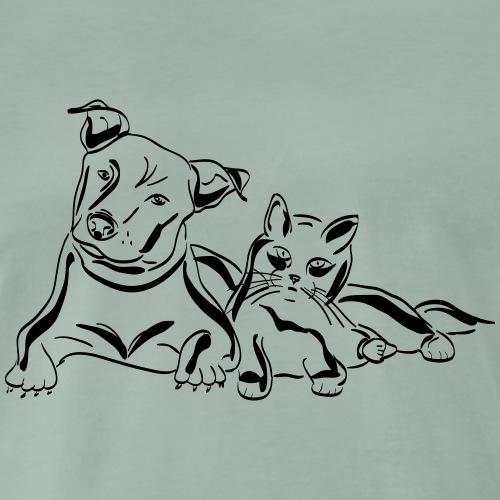 dog 1532627 - Männer Premium T-Shirt