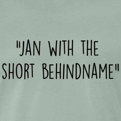 Jan - Mannen Premium T-shirt