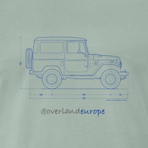 Classic Overlander Series - Männer Premium T-Shirt