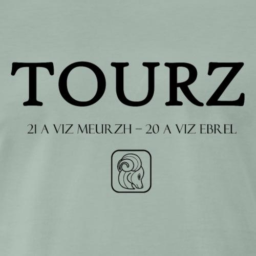 Bretagne - Tourz - Bélier - T-shirt Premium Homme