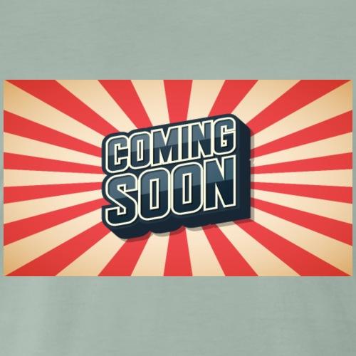 Coming Soon - Männer Premium T-Shirt
