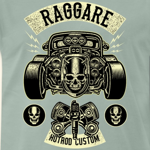 Raggare T-Shirt Hot Rod - Männer Premium T-Shirt