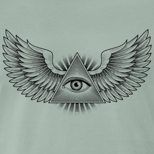 The Eye of Providence. Black