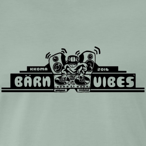 bärn vibes - Men's Premium T-Shirt