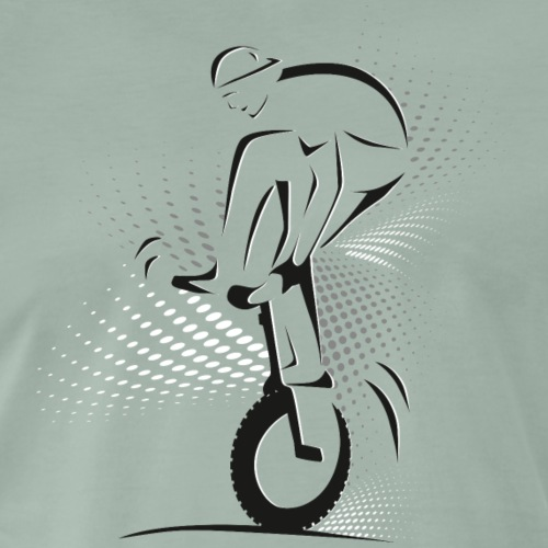Einrad | Unicycling Freestyle Trick - Männer Premium T-Shirt