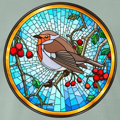 Robin in Glass - Men's Premium T-Shirt