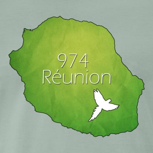 974 - Reunion Island - T-shirt Premium Homme