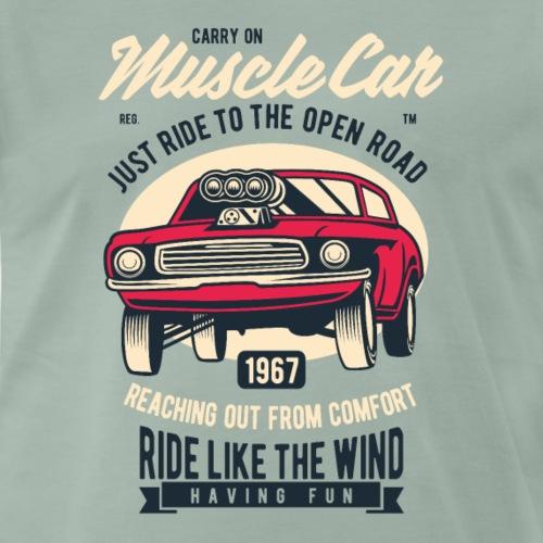 RETRO CAR 19 4 - Männer Premium T-Shirt