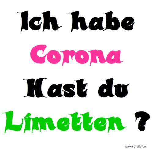 Corona Limetten - Männer Premium T-Shirt
