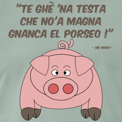 testa maiale - Maglietta Premium da uomo