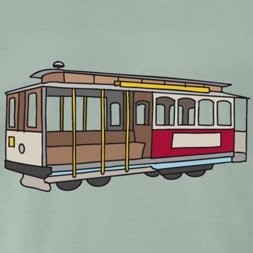 San Francisco Cablecar c - Männer Premium T-Shirt