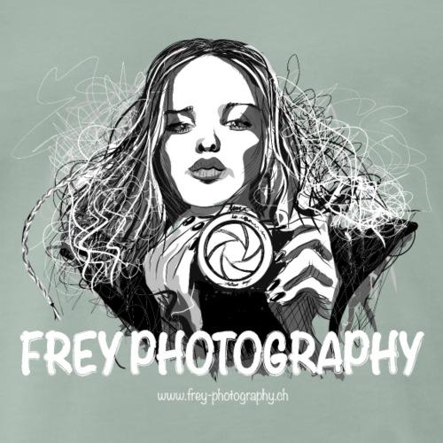 Duck face Fotografin - Männer Premium T-Shirt