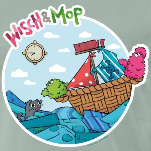 Wäsche-Piraten - Männer Premium T-Shirt