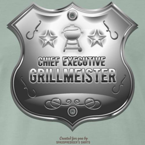 Grillen T Shirt Chief Executive Grillmeister - Männer Premium T-Shirt