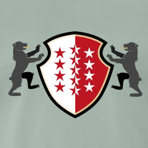 Shield of Valais - Wallis with bears