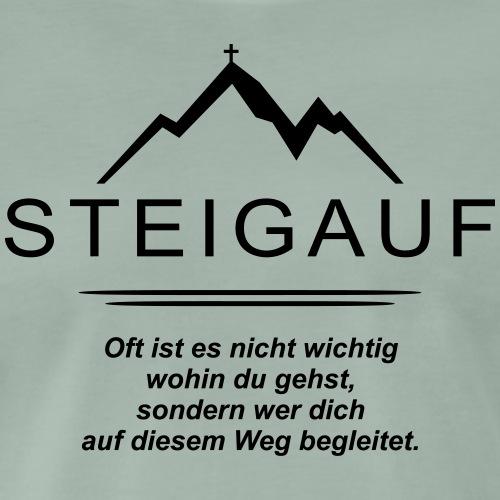 STEIGAUF Spruch 57 - Männer Premium T-Shirt