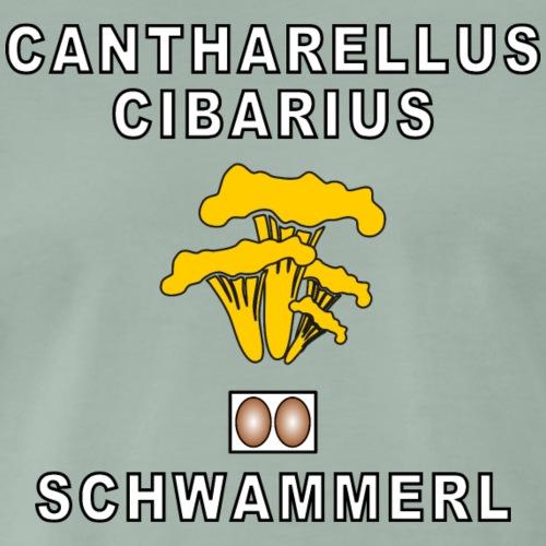 EIERSCHWAMMERL - Männer Premium T-Shirt