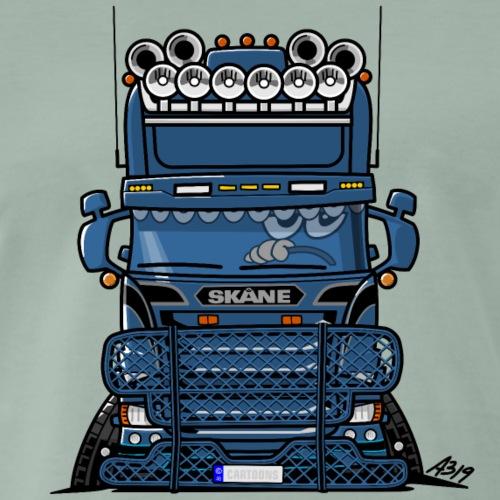 0777 BLUE TRUCK SKANE - Mannen Premium T-shirt
