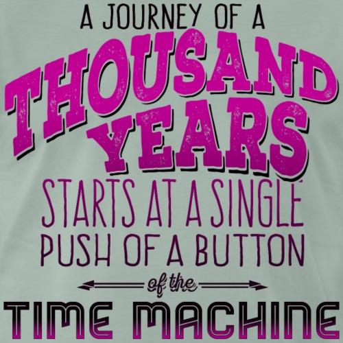 Journey of 1000 Years - Bright Shirts - Männer Premium T-Shirt