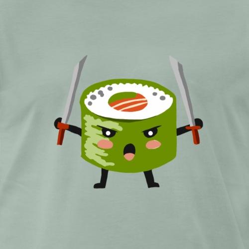 Sushi riso samurai ninja tutti i motivi - Maglietta Premium da uomo