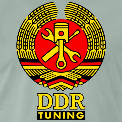 DDR Tuning Coat of Arms 3c - Men's Premium T-Shirt