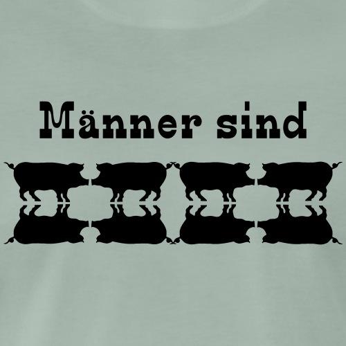 Männer sind Schweine - Männer Premium T-Shirt