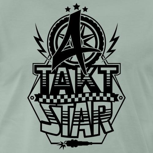 4-Takt-Star / Viertakt-Star - Men's Premium T-Shirt