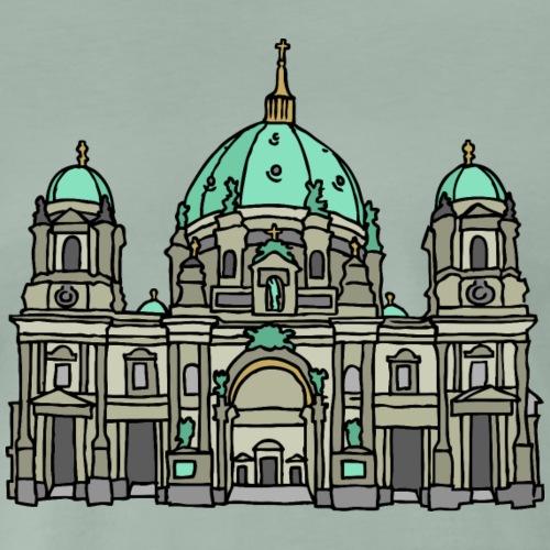 Cattedrale di Berlino c - Maglietta Premium da uomo