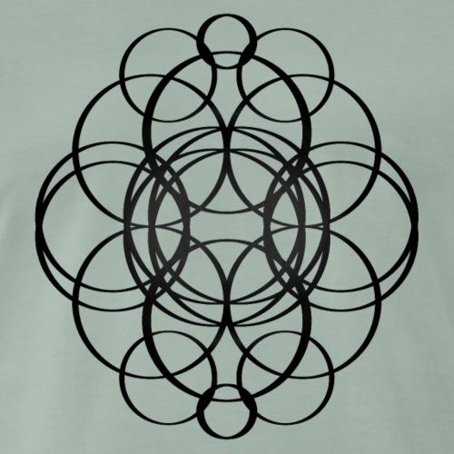 Cercles enlacés - T-shirt Premium Homme