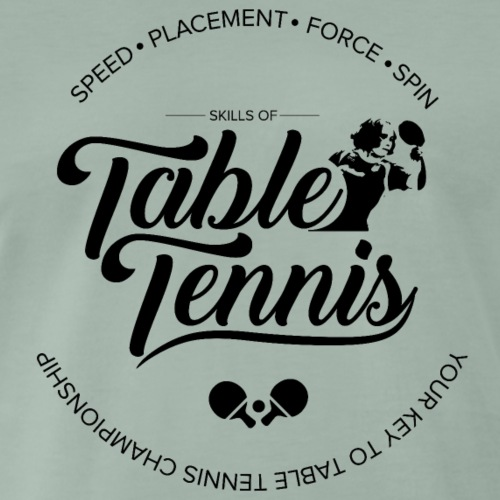 Key to Table tennis championship - Männer Premium T-Shirt