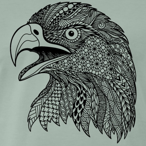Eagle zentangle - Men's Premium T-Shirt