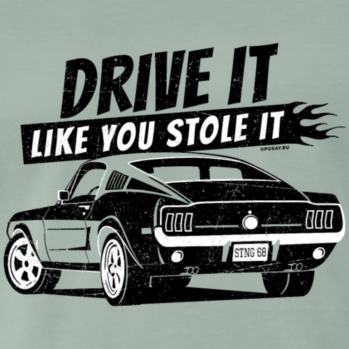 Drive it Fastback Shop - Men's Premium T-Shirt