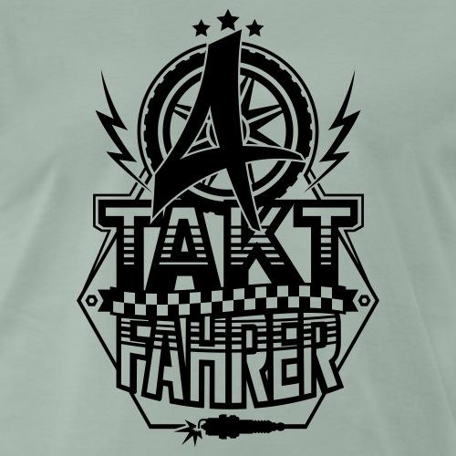 4-Takt-Fahrer / Viertaktfahrer - Men's Premium T-Shirt