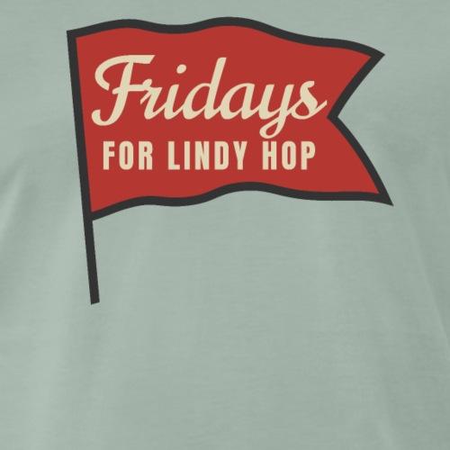 Lindy Hop Swing Tanz Geschenk T-Shirt - Männer Premium T-Shirt
