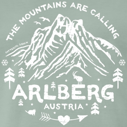 Arlberg Calling Shop - Men's Premium T-Shirt
