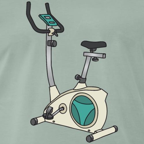 Heimtrainer Trimmdich-Rad - Männer Premium T-Shirt