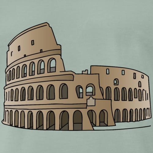 Kolosseum in Rom c - Männer Premium T-Shirt