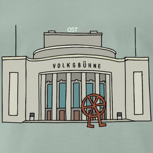 Volksbühne di Berlino c - Maglietta Premium da uomo