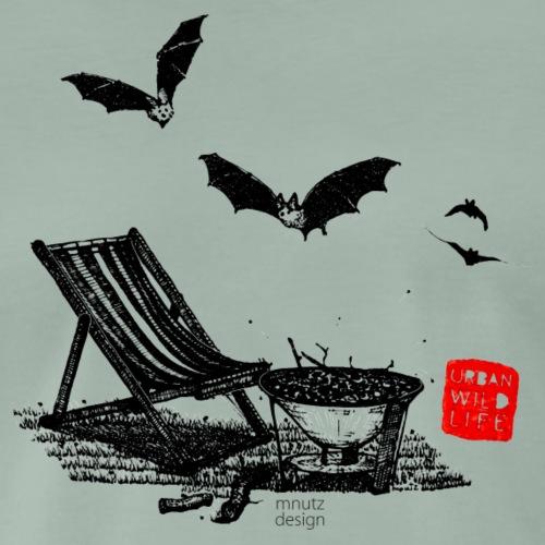 Urban Wildlife - Fledermaus - Männer Premium T-Shirt