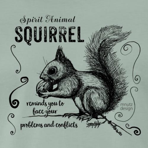Spirit Animal Eichhörnchen schwarz