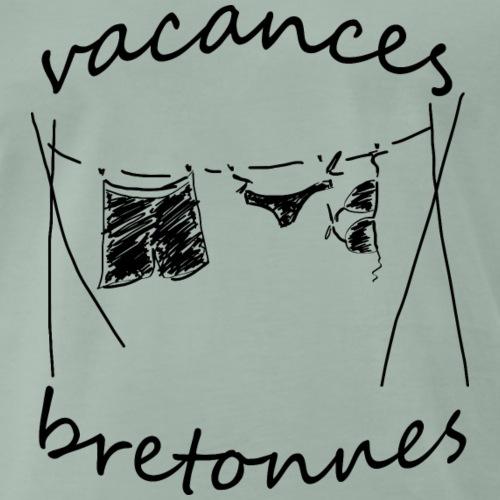 VACANCES BRETONNES - T-shirt Premium Homme
