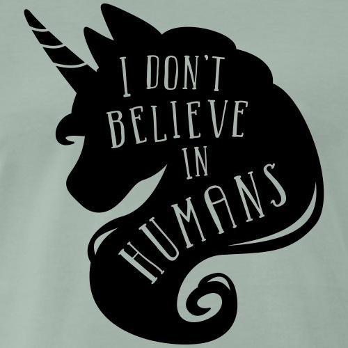 Believe in Humans - Männer Premium T-Shirt