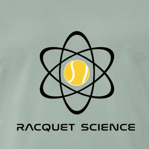 RACQUET SCIENCE - Koszulka męska Premium