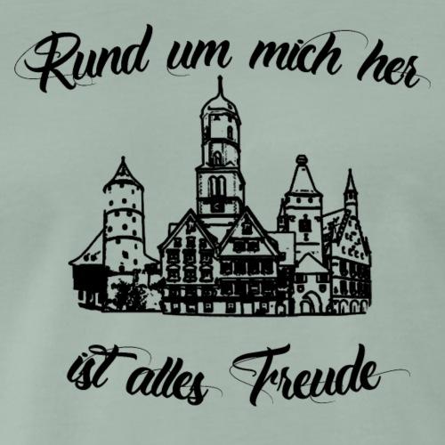 Biberacher Schützenfest - Männer Premium T-Shirt