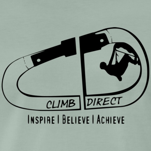 Inspire believe achieve black - Men's Premium T-Shirt