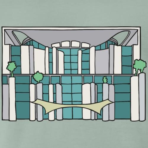 Cancelleria federale a Berlino c - Maglietta Premium da uomo