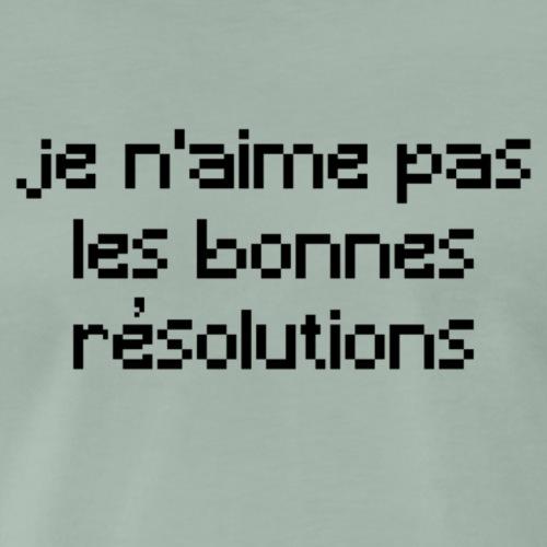 Résolutions - T-shirt Premium Homme